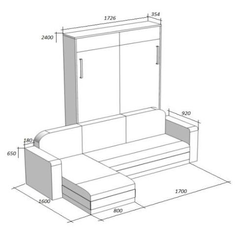механизмы трансформации для мебели трансформеров купить у