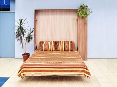 диван в двухярусную кровать