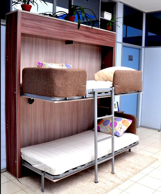 Кровать трансформер для малогабаритных квартир