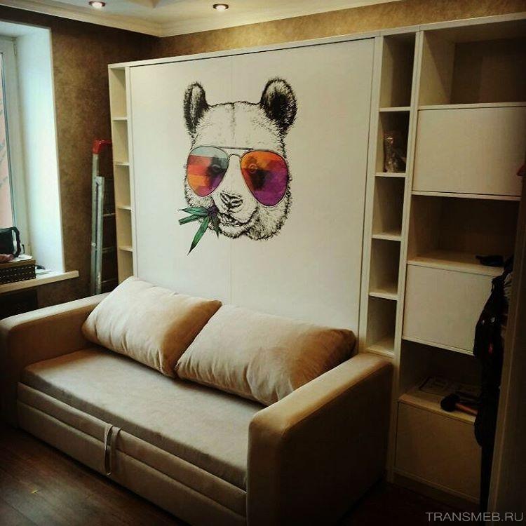 кровать шкаф трансформер от трансмеб особенности и фото